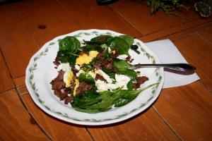Spinach Stir Fry Breakfast